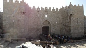 Дамаські ворота. Єрусалим